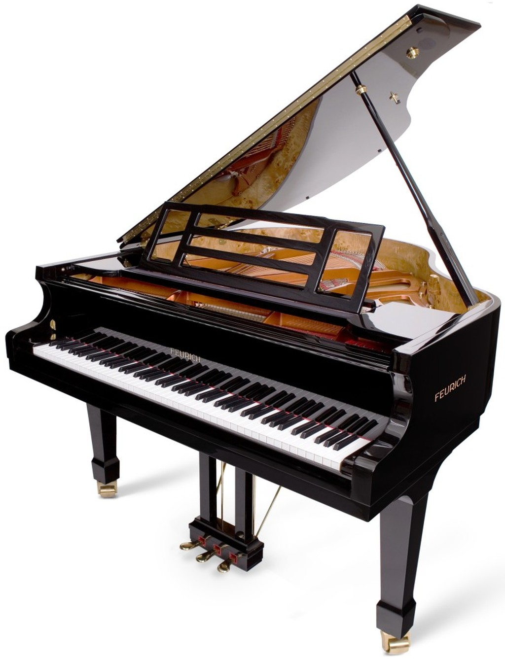 piano a queue feurich 161