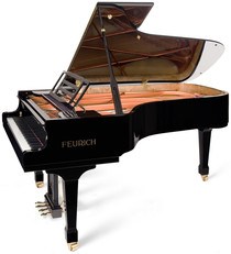 piano a queue feurich 218
